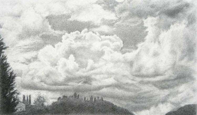 Nebe Nad Hlavou Ale Jak Ho Nakreslit Graficke Kresleni