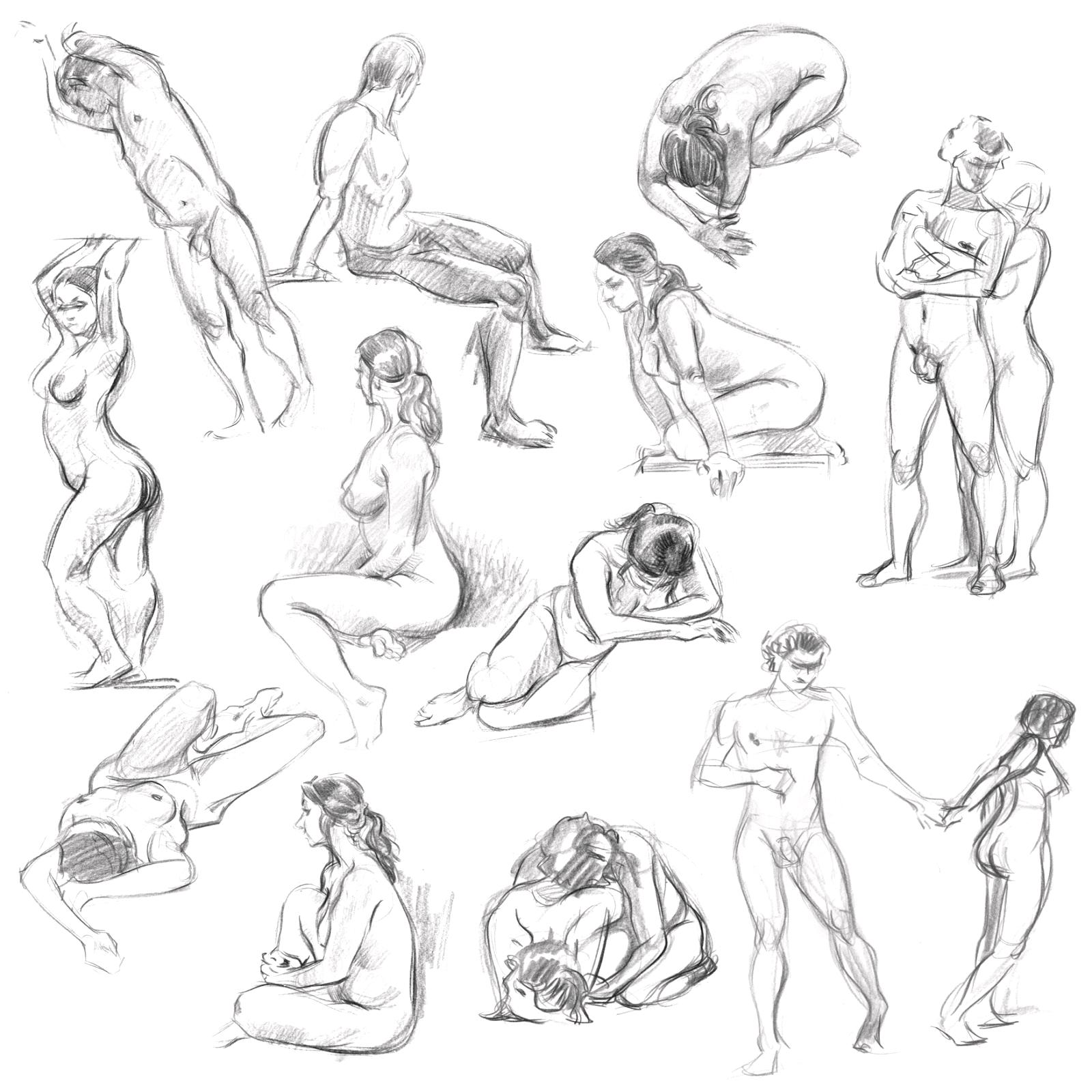 Jak Kreslit Lidskou Postavu Graficke Kresleni