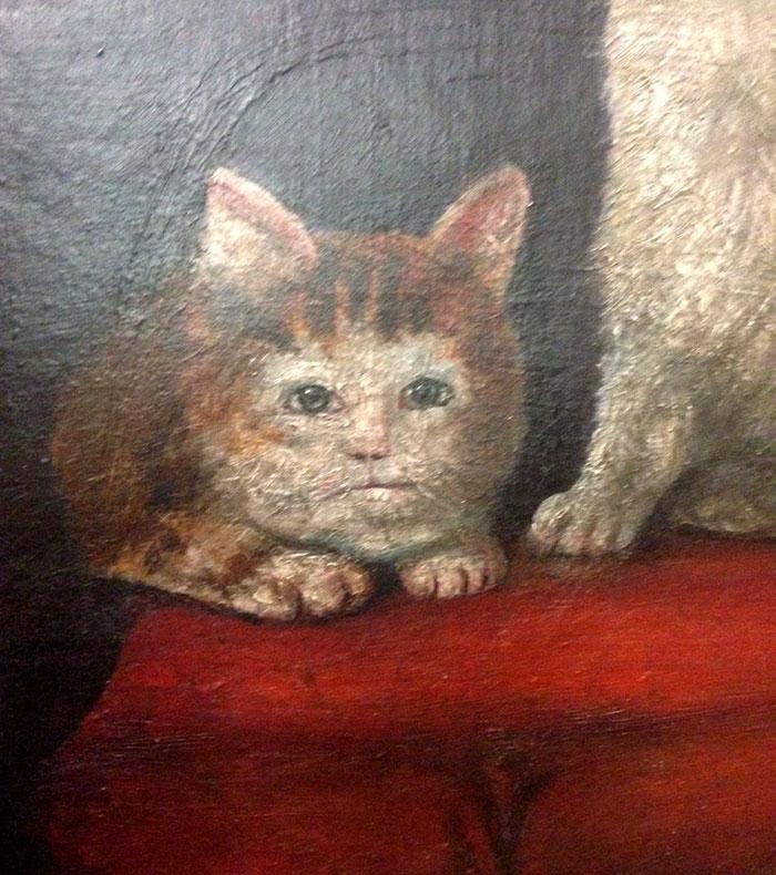 Vsimli Jste Si Nekdy Jak Jsou Zobrazeny Kocky Na Stredovekych